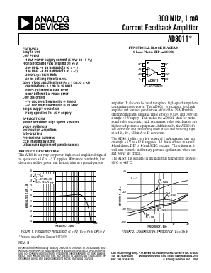 AD8011AN image